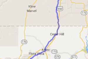 Durango CO to Farmington NM via River Roads |  Colorado