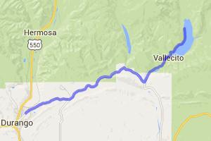 Durango to Lake Vallecito Lunch Run |  Colorado