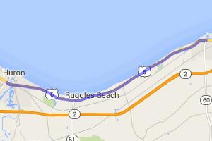 11 Miles Along Lake Erie via Ohio Rt 6 |  Ohio