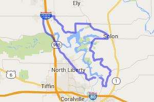 Coralville Reservoir Loop    Iowa