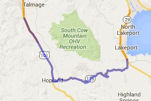 Cloverdale-Booneville-Hopland Grade, Part 3 |  California