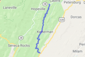 Smoke Hole Road    West Virginia