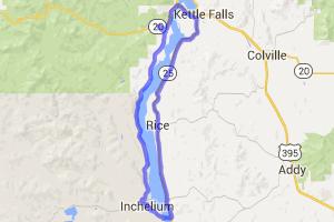 Inchelium Ferry Loop |  Washington