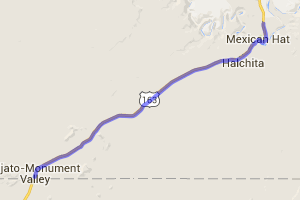 Southeastern Utah on Highway 163 |  Utah
