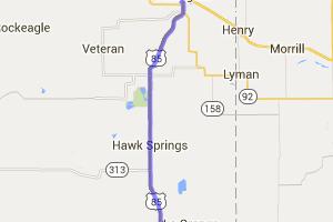 US 85 Torrington to Bear Mountain Station |  Wyoming