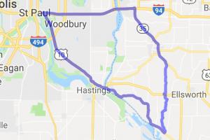 Twin Cities to Prescott and the Alphabet Roads Loop |  Minnesota