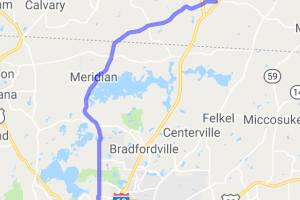 The Meridian Road Canopy Ride |  Georgia
