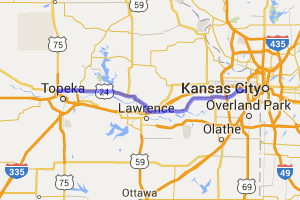 K32 out of KC to K24 on to Topeka |  Kansas