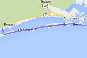 Cape Carteret to Fort Macon    North Carolina