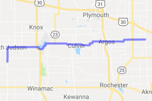 Route 10 to Kerstings Harley and Motorcycle Museum    Indiana
