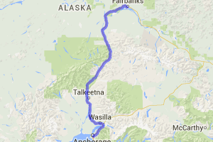 Anchorage to Fairbanks |  Alaska