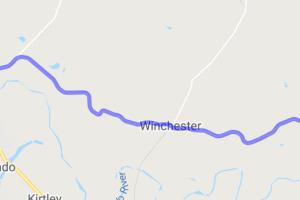Smithville-LaGrange on FM153 through Winchester    Texas