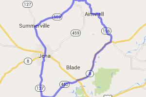 LaSalle and Catahoulla Parish Line Ride |  Louisiana