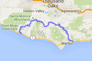 Tour De Malibu - Latigo Canyon to Deer Creek |  California