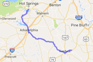 The Johnny Cash Run - Hot Springs to Kingsland |  Arkansas