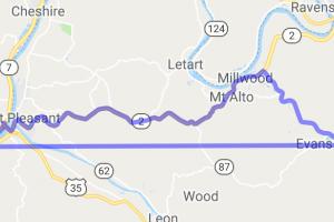 Ripley, WV to Gallipolis, OH |  Ohio