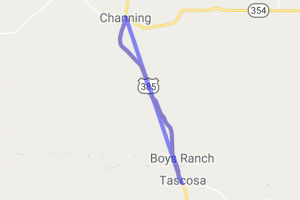 Channing to Boys Ranch (US 385) |  Texas