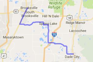 Dade City to Brooksville |  Florida