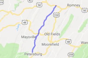 Patterson Creek Rd |  West Virginia
