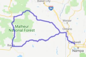 Vale - John Day Loop |  Oregon
