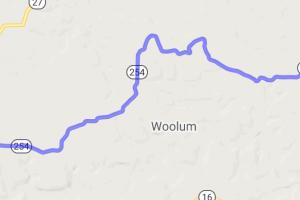 Route 254 between Denard and Tilly Arkansas |  Arkansas