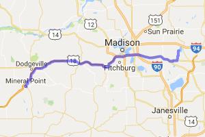 Route 39 - Driftless Region Scenic Ride |  Wisconsin