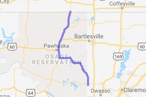 OK Route 11 to OK Route 99 |  Oklahoma
