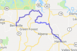 Harrison to Berryville - The Long Way Round |  Arkansas