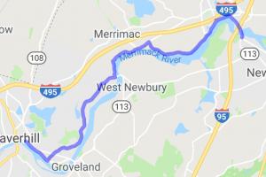 Merrimack River Ride |  Massachusetts
