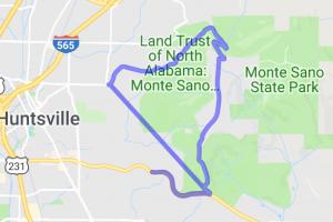 Monte Sano Boulevard - Huntsville    Alabama
