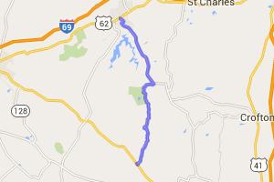 15 Mile Run Through Pennrile State Park |  Kentucky