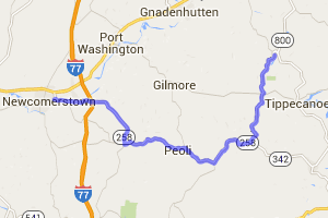 Route 258 (Newcomerstown to Stillwater) |  Ohio