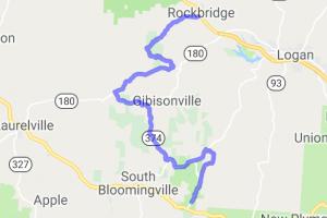 SR-374 Hocking Hills |  Ohio