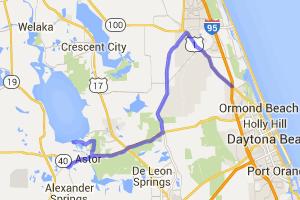 Daytona to Apopka Lake & Winter Garden |  Florida