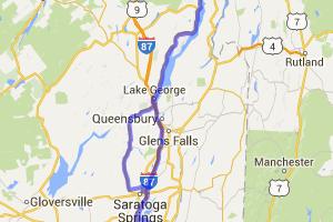 Capital Region to Fort Ti Loop |  New York