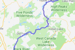 Boonville to Lake Placid    New York