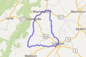 Culpeper - Sperryville Loop |  Virginia