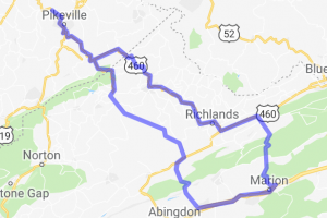 Eastern Kentucky-SW Virginia Loop |  Virginia