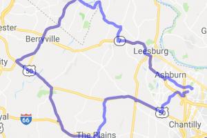 Sterling - Front Royal - Charles Town Loop |  Virginia
