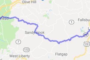 Route 32 - Morehead to Louisa |  Kentucky