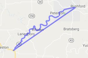 MN-16 - Preston to Rushford |  Minnesota
