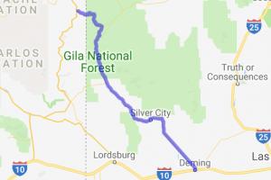 US 180 Alpine, AZ - Deming, NM |  New Mexico