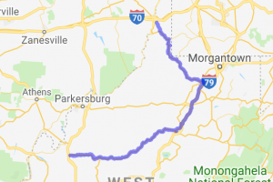 200-Mile West Virginia Twisties Tour |  West Virginia