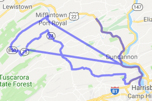 """""""Heck of a Route"""" 