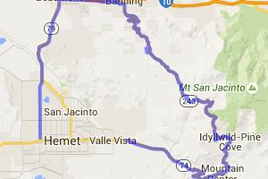 Hemet Idyllwild Motorcycle Run |  California