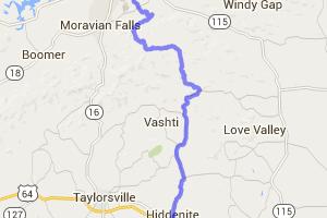 Brushy Mountain Road |  North Carolina