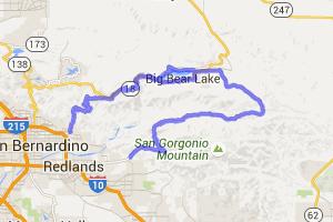 "The ""Loop Around the Lake"" - Big Bear, CA |  California"
