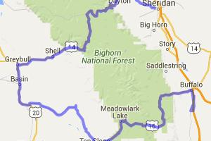 Big Horn Mountain loop |  Wyoming