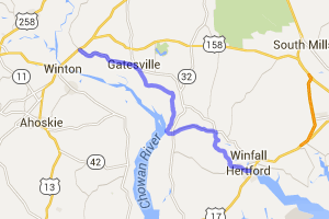 Perquimans, Gates Co.  farmland ride |  North Carolina