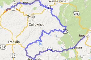 Brevard to Bryson City - mix of backroads and BRP |  North Carolina